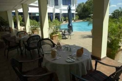 Hotel Cardoso Pool dining view